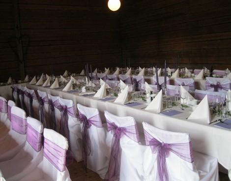 Bild från tidigare bröllop på logen