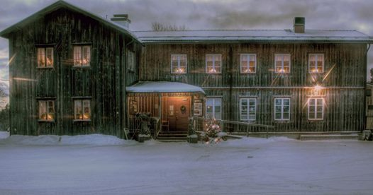 Hembygdsgård vinter