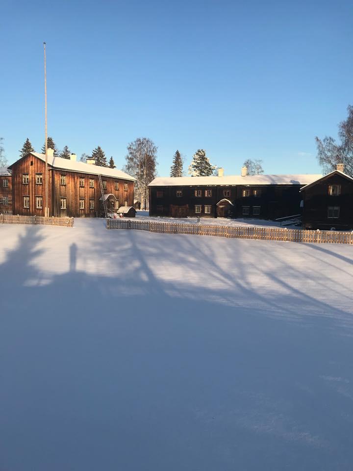 Hembygdsgård vårsol